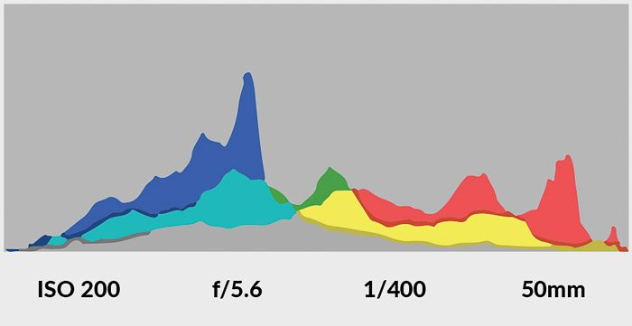 A camera histogram - learning how to take good pictures