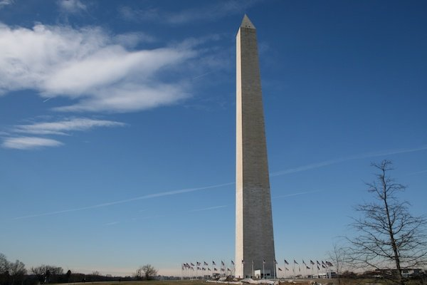 An image of an obelisk to show horizon placement