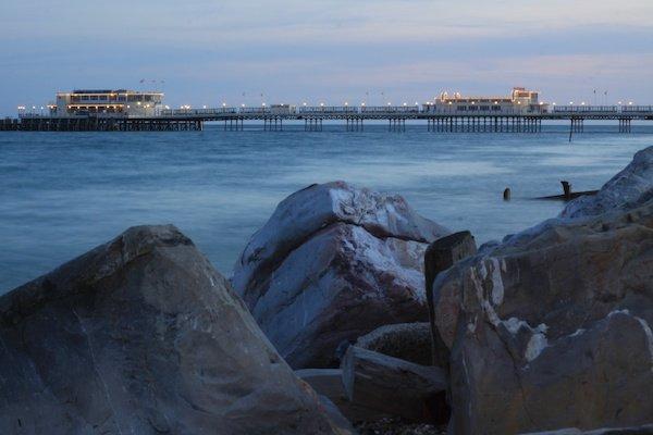 A beach scene to show correct Horizon Placement