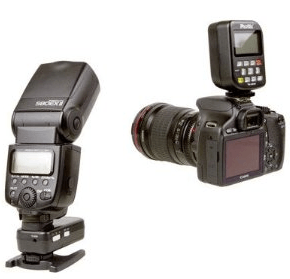 product image of a flash on and off camera