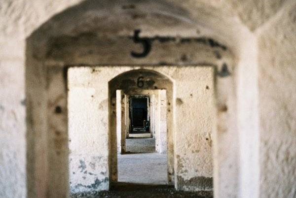 Numbered archways