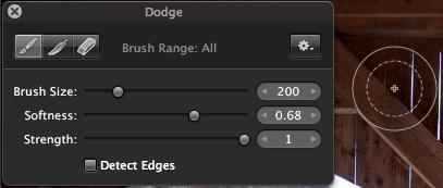dodge tool - Burn & Dodge Tools Instead of HDR