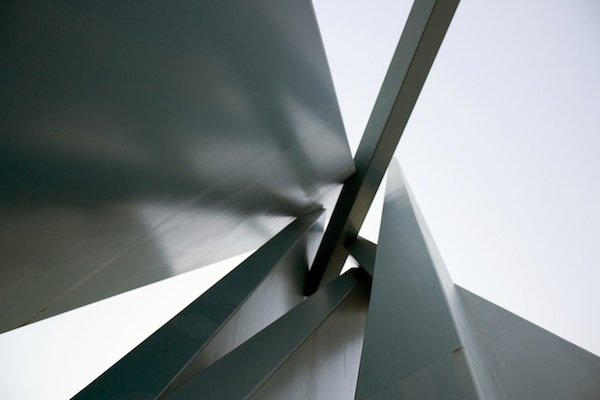 An image of abstract arhcitecture. Low Angle – 30 Day Photography Challenge Tips