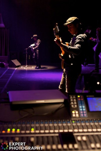 Musician performing onstage - Photography niche
