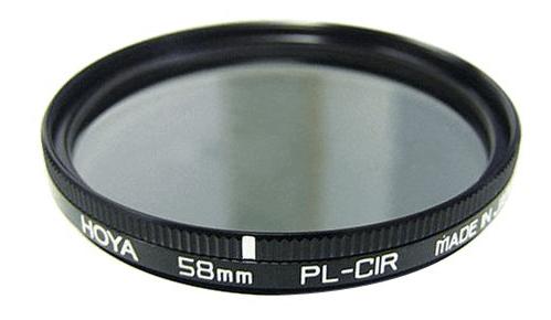 a HOYA circular polarizer filter