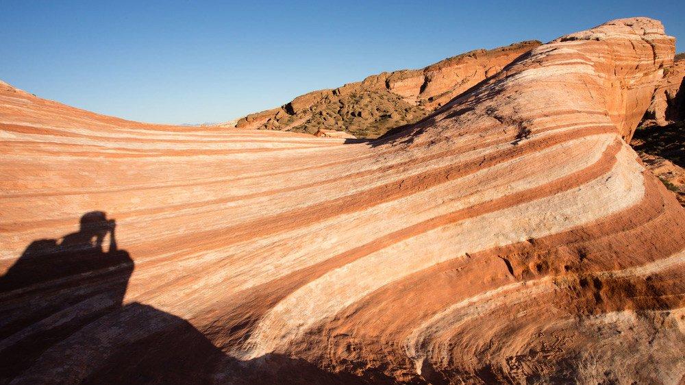 Photo of desert landscape. Professional Photography.