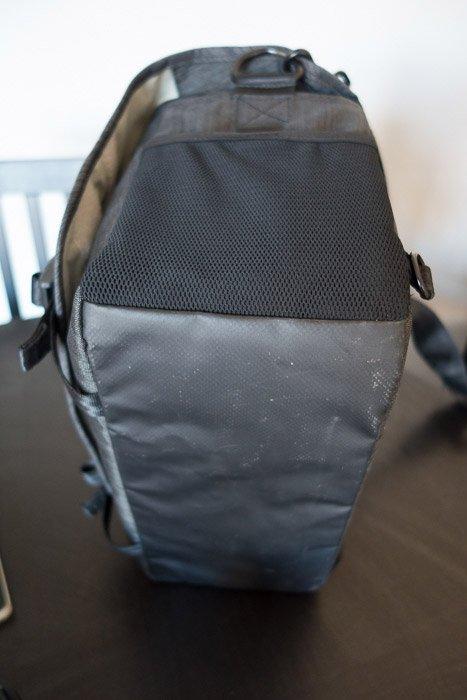 The bottom of the Tenba Messenger Camera Bag