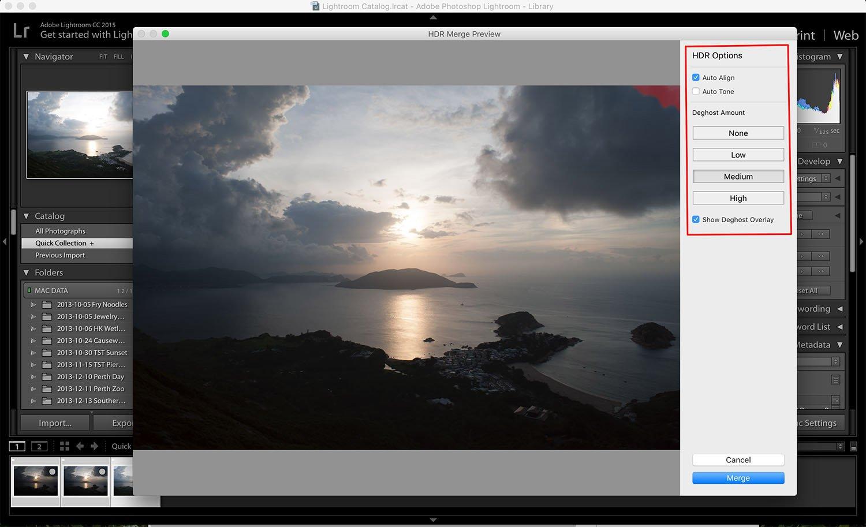 Lightroom - HDR software