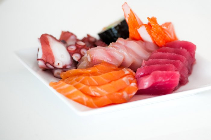 A delicious close up of seafood selection - food photography tips