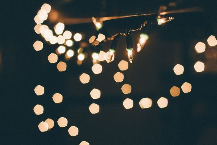 photo of fairy light with bokeh effect