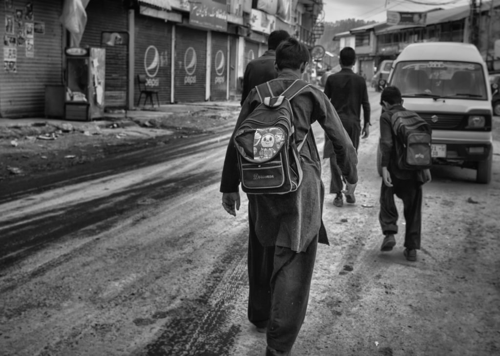 What is street photography - Back to School 1 by Imran Zahid