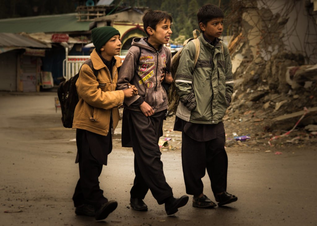 What is street photography - Back to School 3 by Imran Zahid