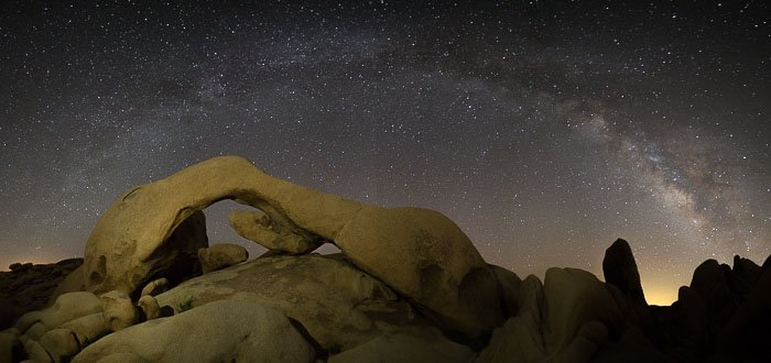Post Processing Milky Way Photography Shadows