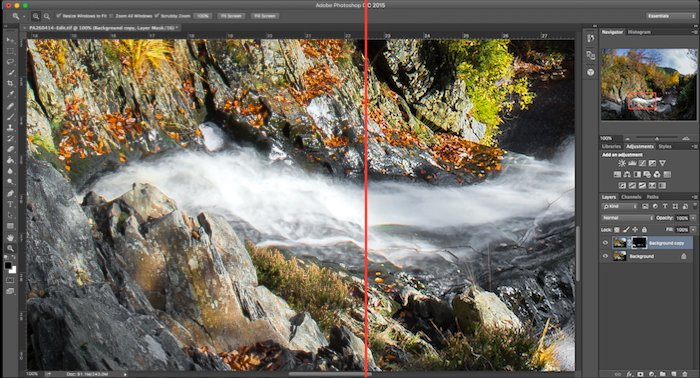 Fisheye Lens Photography: Photoshop motion filter before and after