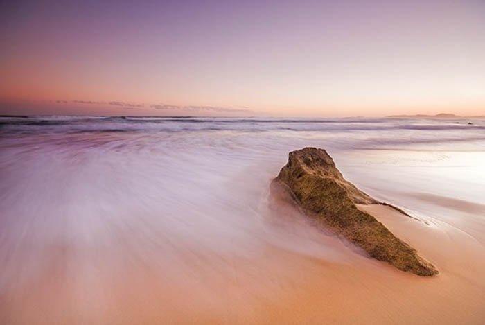 海岸线风景摄影
