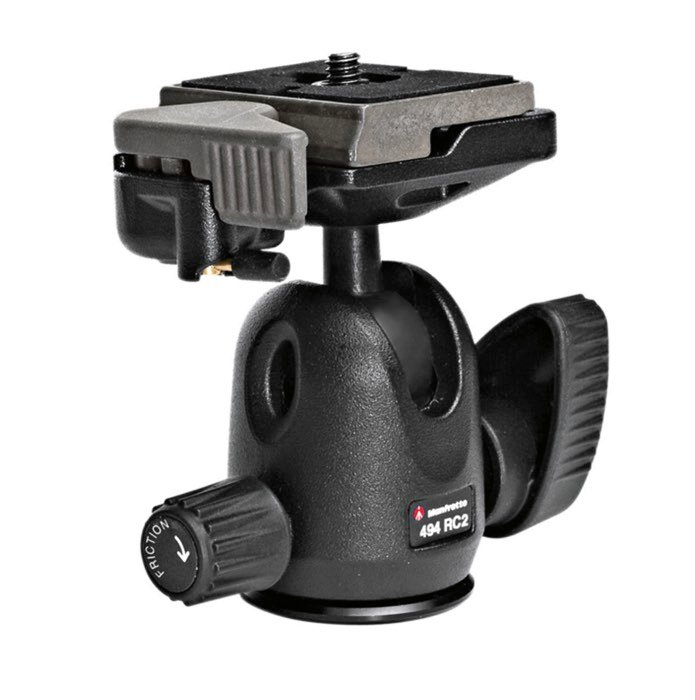 Tripods for Landscape Photography: Manfrotto 496RC2 ball head product photo