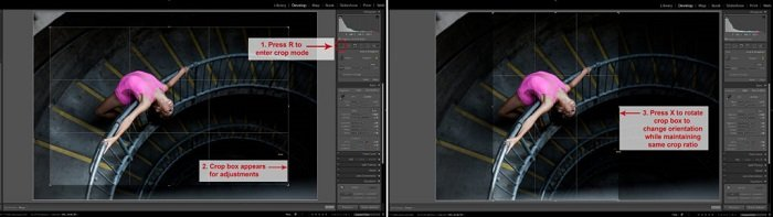 使用Adobe Lightroom快捷方式更快地编辑屏幕截图