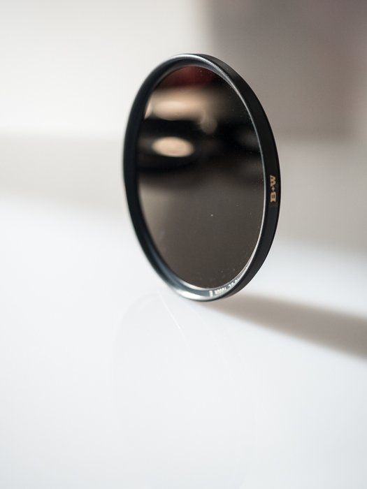 Filters for landscape photography: Example of a 10-stop ND filter.