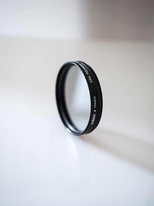 Filters for landscape photography: Example of a circular polariser filter