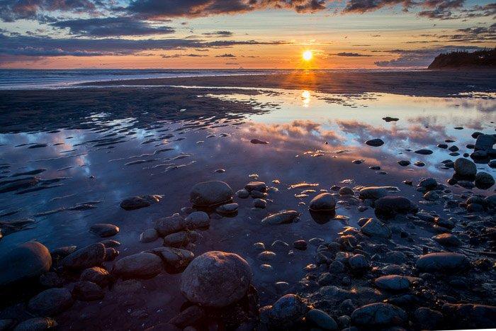 A stunning coastal photography seascape