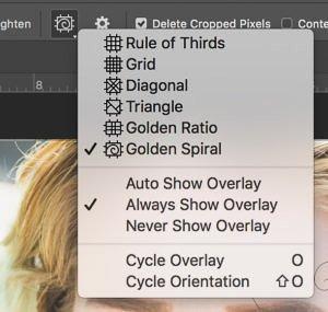 Photoshop Golden Ratio Overlays