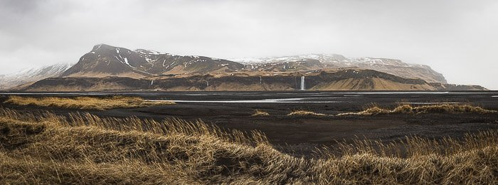 panoramic landscape photo taken during Casey Kiernan's Iceland Photography Workshop