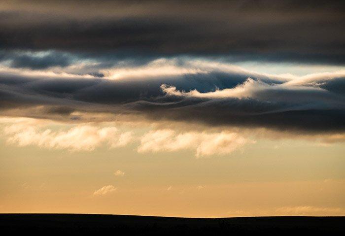 Cloudscape taken with spot-metering - Landscape Photography Exposure