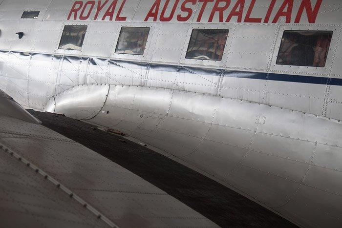 Royal Australian Window Detail