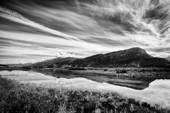 令人惊叹的黑白风景摄影的例子