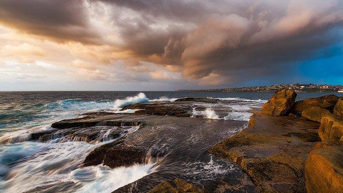 令人惊叹的海岸风景摄影镜头