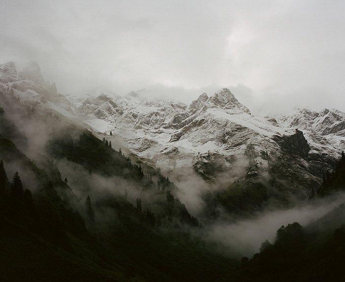 A stunning mountainous landscape