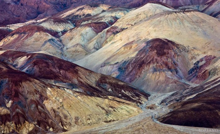 Death Valley desert photography captured with a telephoto lens