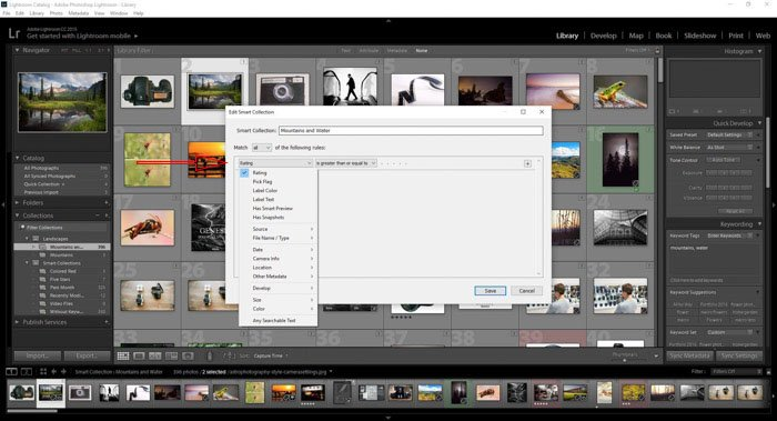 Editing collections