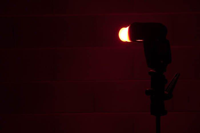 DIY speedlights colour diffuser