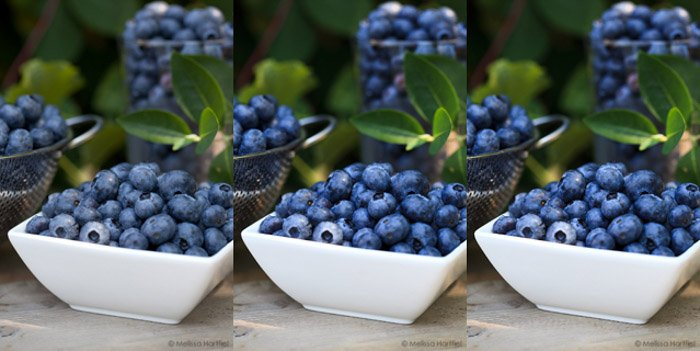 Using Photoshop to process food photography