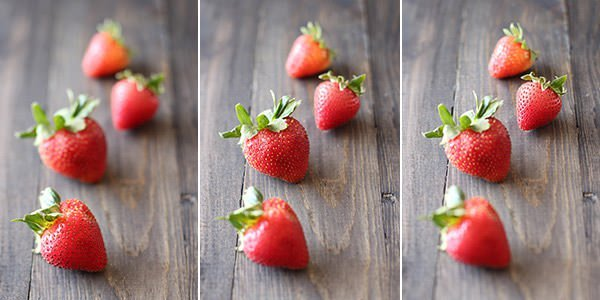Use focus stacking for full focuses on your food items in food photography