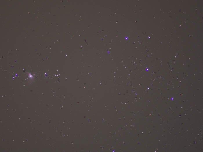 astro photography light frame