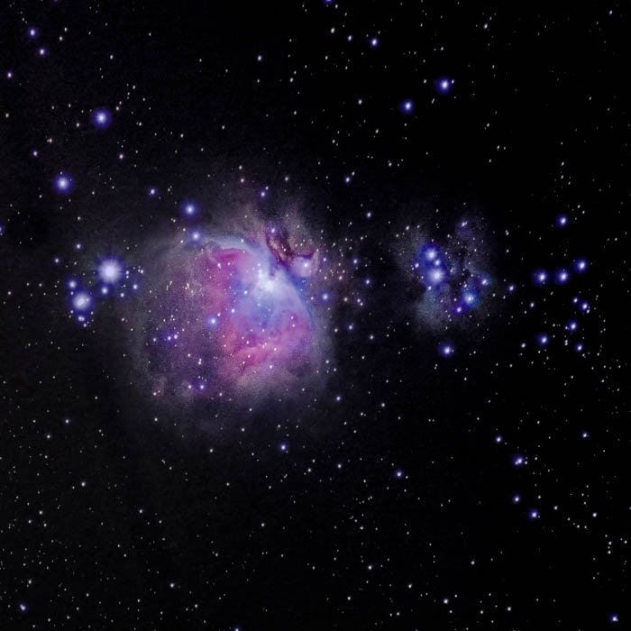 great orion nebula