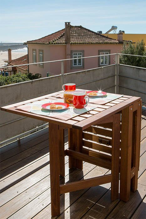 picnic table setup without diffuser