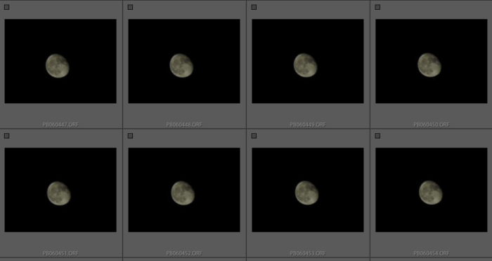 moon photo editing