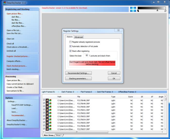 deepskystacker software