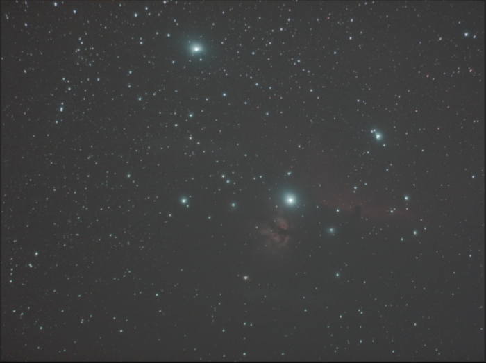 starry night stellar constellation photograph