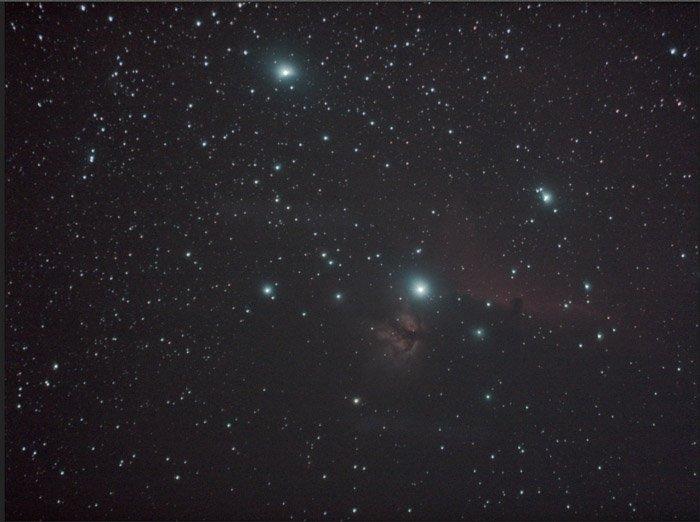 astrophotography starry sky