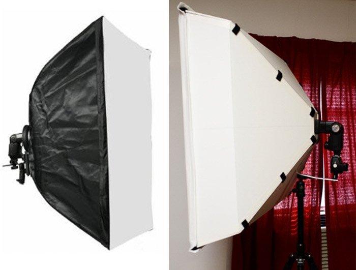 A DIY photography lighting softbox