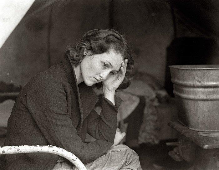 Dorothea Lange portrait of a woman