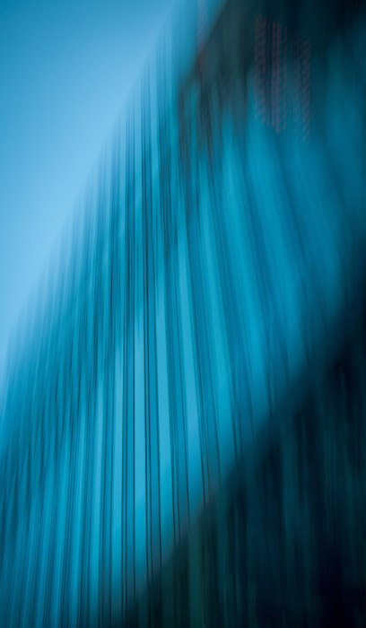 Blurry Abstract architectural photography