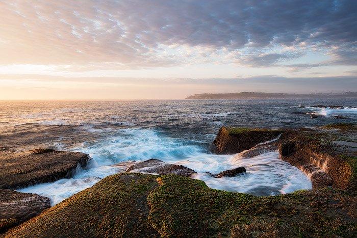 landscape photography glow effect