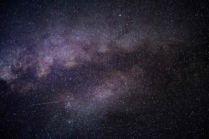 photo of the milky way on the night sky