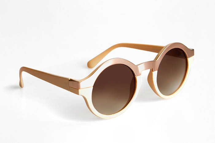 A product photo of a pair of sunglasses