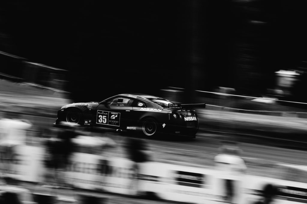DSLRs are able to capture all kinds of sports photography, such as high-speed motorsports